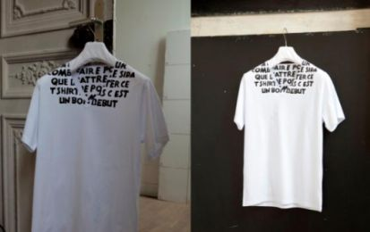 Maison Martin Margiela presenta le nuove t-shirt in favore della lotta all'Aids