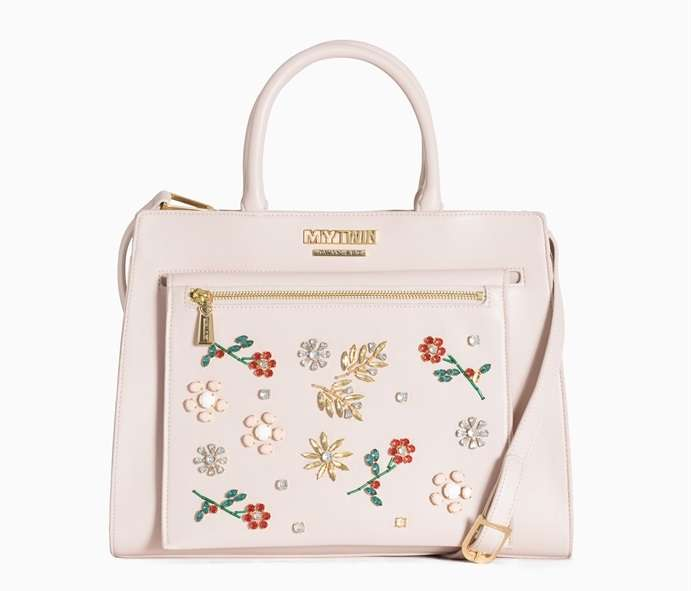 Borsa Twin Set rosa cipria