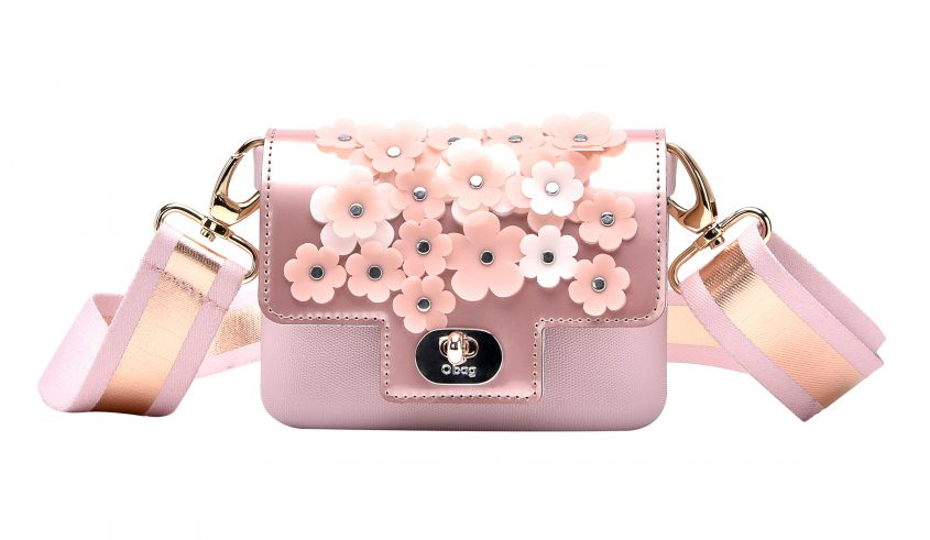 Borsa a fiori O Bag tendenze primavera estate 2018