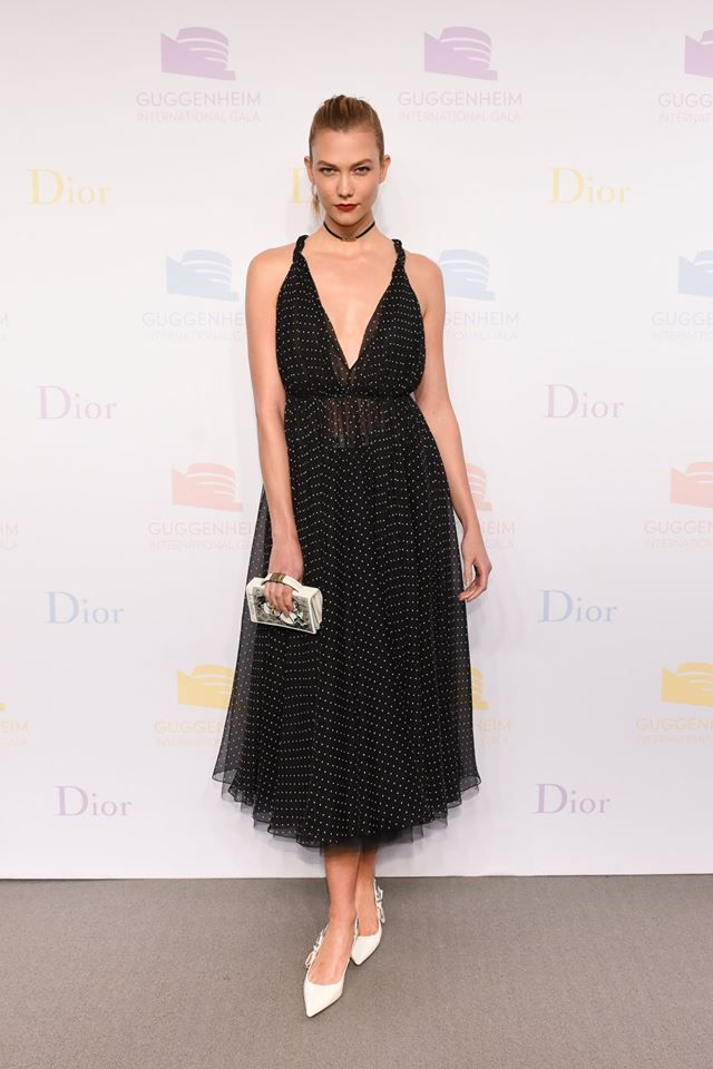 Karlie Kloss in Dior