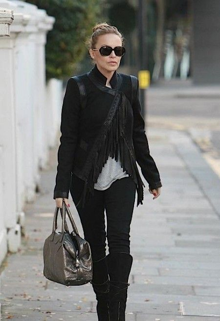 Borse Yves Saint Laurent: Kylie Minogue con la Easy Tote