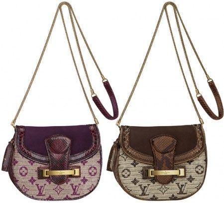 Louis Vuitton borse, linea Monogram Empire per la p/e 2011