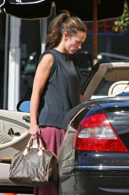 Louis Vuitton borse: Jennifer Love Hewitt con la Speedy