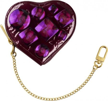 San Valentino 2011: Heart Coin Purse Bijoux di Louis Vuitton