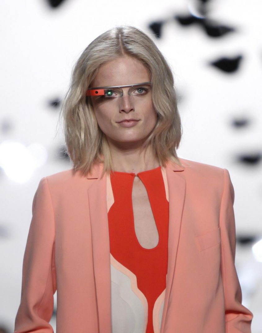 Google Project Glass per Diane von Furstenberg Primavera/Estate 2013