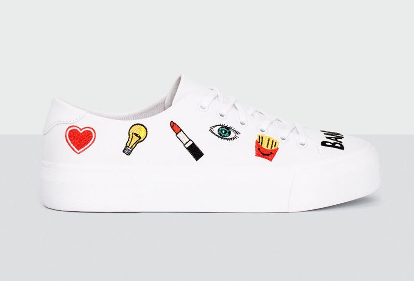 Sneakers con toppe Pull & Bear