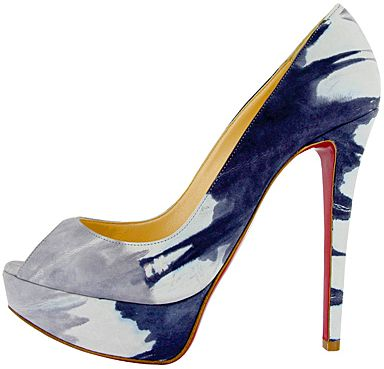 Le decolletes Banana Christian Louboutin dallo stile pop per l'estate 2011