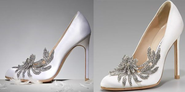 Scarpe da sposa Manolo Blahnik per Bella in Breaking Dawn, splendide décolletés