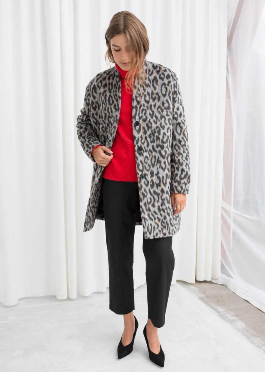 Cappotto animalier And Other Stories a 179 euro