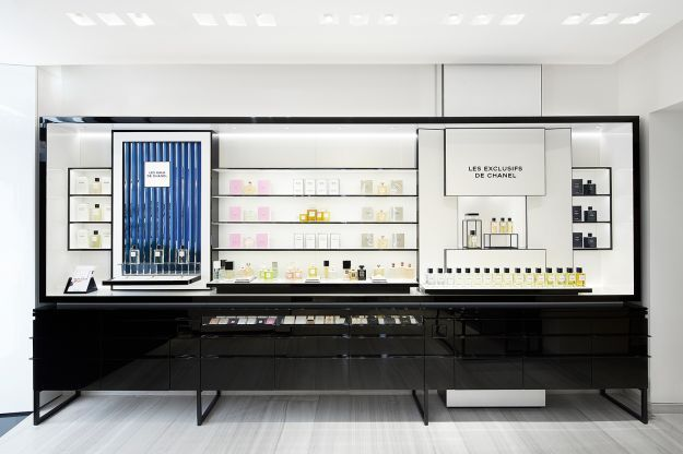 Chanel beauty boutique roma