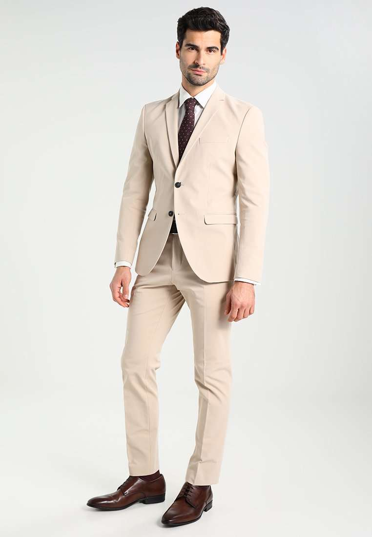 Completo beige da uomo Selected Homme