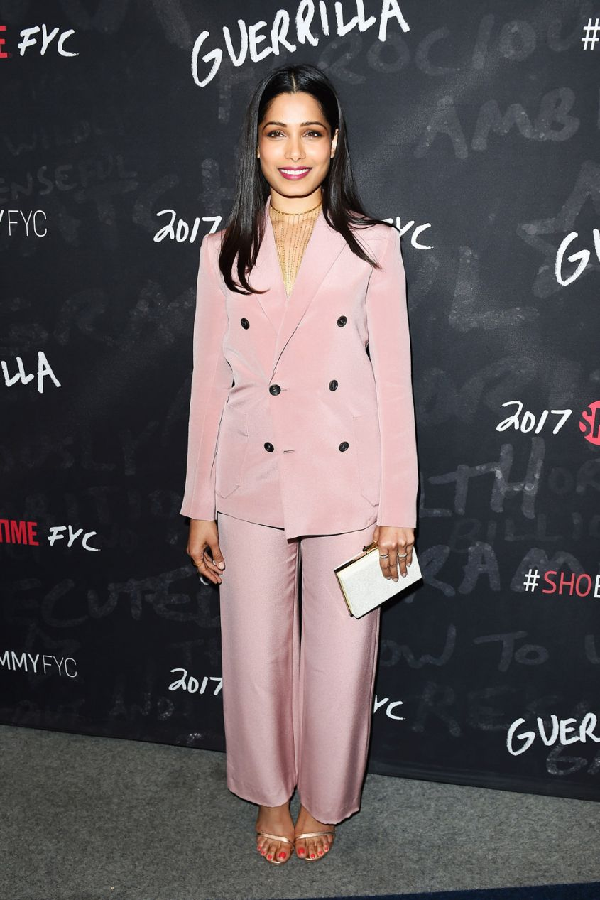 Freida Pinto in Bally