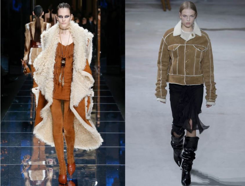 Giacche in shearling