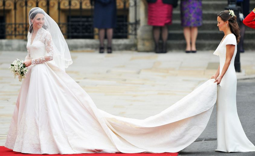 abito da sposa kate middleton