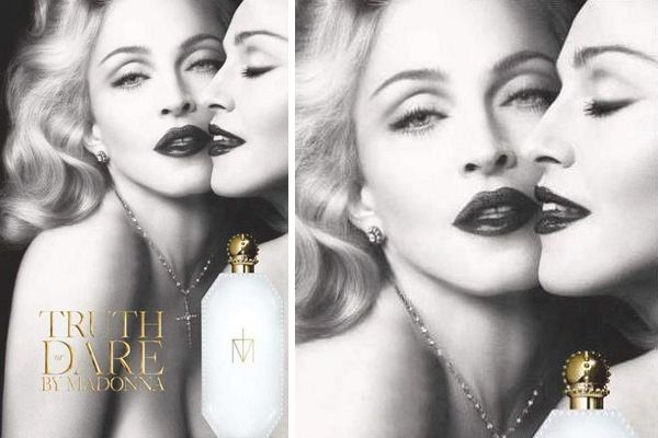 Truth or Dare by Madonna, la campagna pubblicitaria del profumo