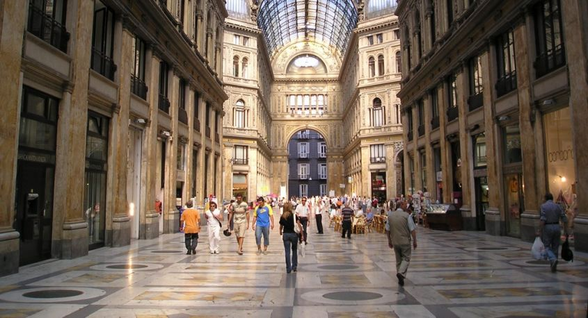 shopping napoli