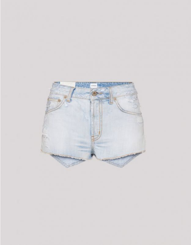 stile boho chic dondup shorts