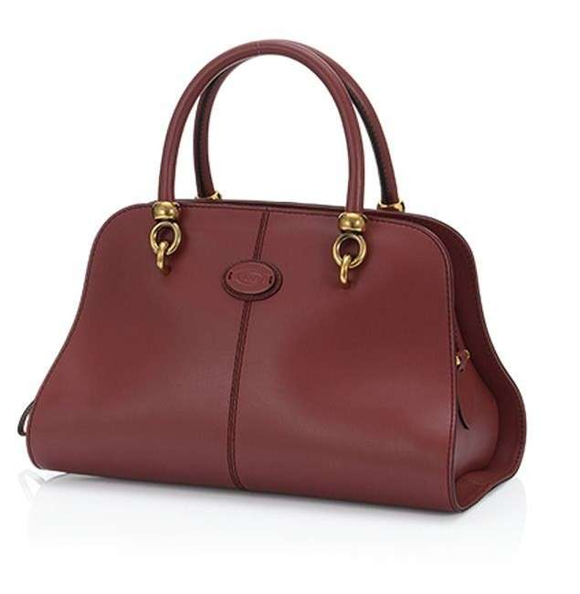 Handbag Tod's Sella bordeaux