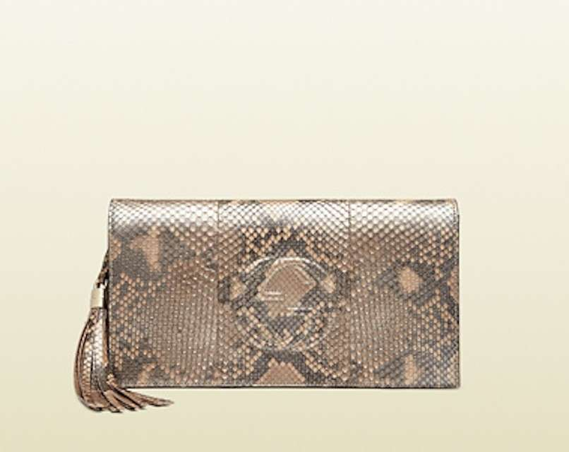 Clutch Bag pitone Gucci