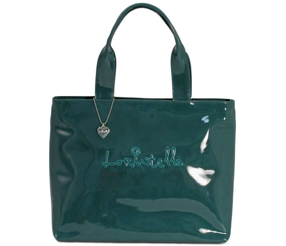 Shopper in vernice Loristella