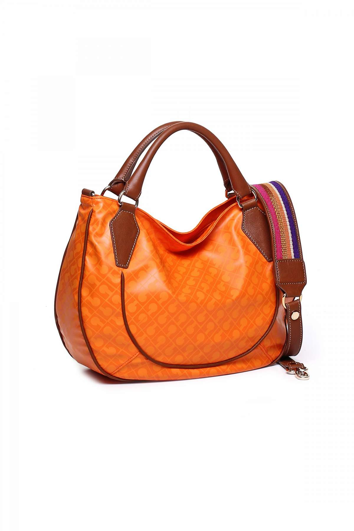 Handbag orange Gherardini