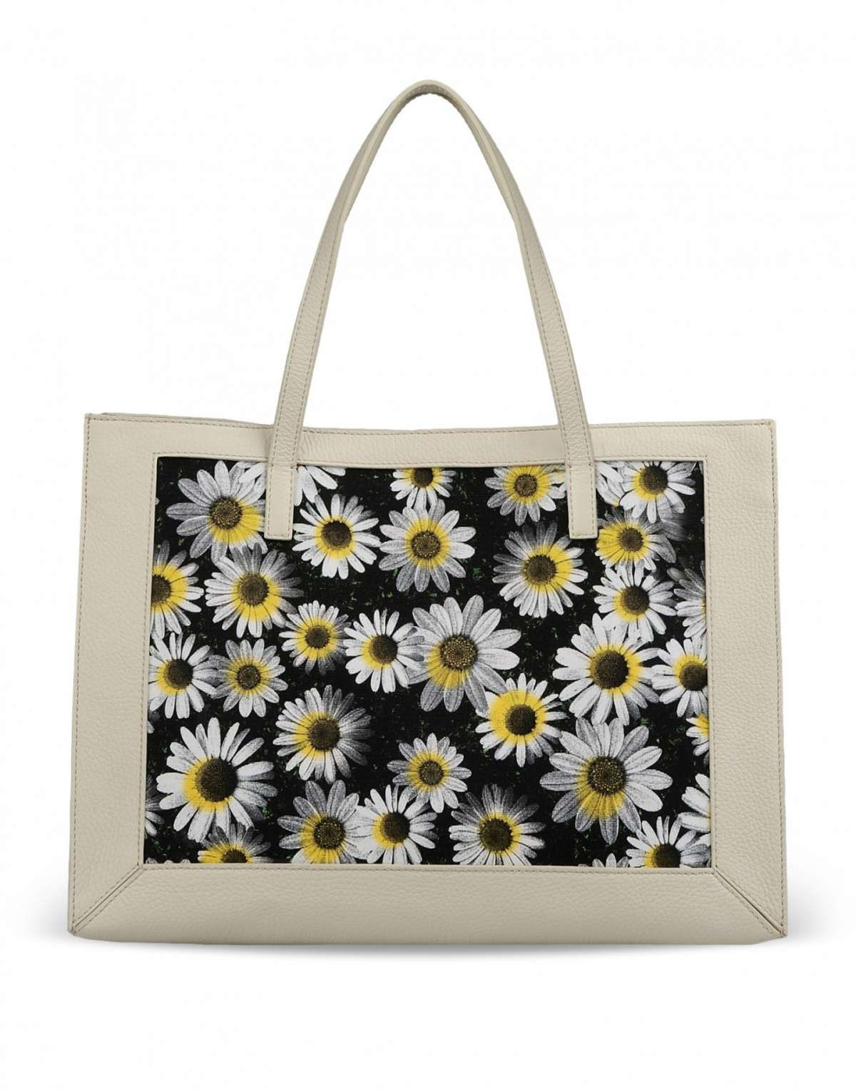 Shopper con stampa girasoli Moschino Cheap and Chic