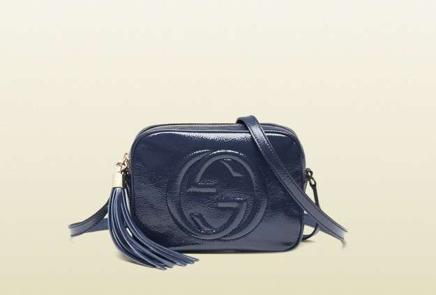 Disco Bag Soho Gucci blu
