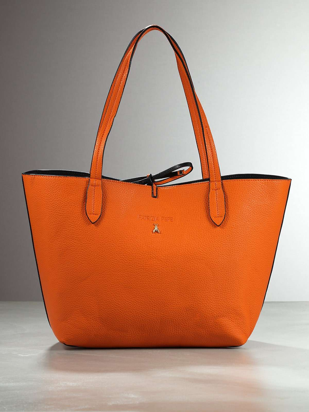 Shopping bag arancio