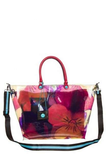 Shopper in pvc multicolor Gabs