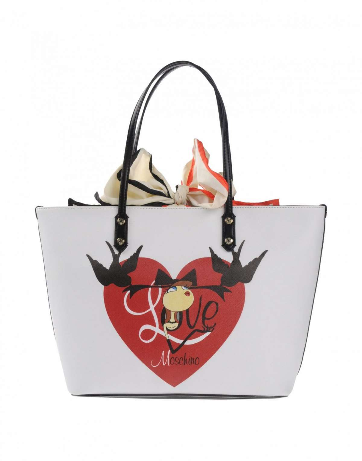 Shopper in pvc Love Moschino