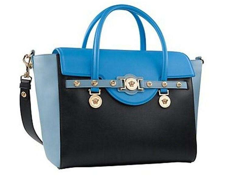 Handbag Signature Versace in color block