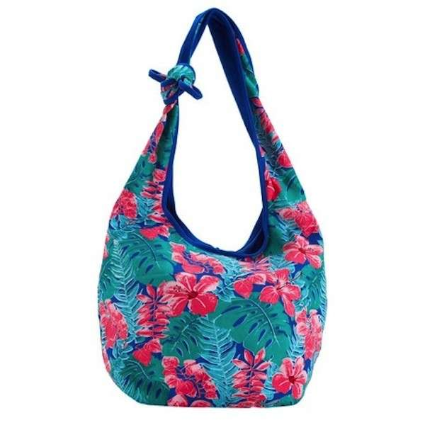 Carpisa soft bag con stampa tropicale