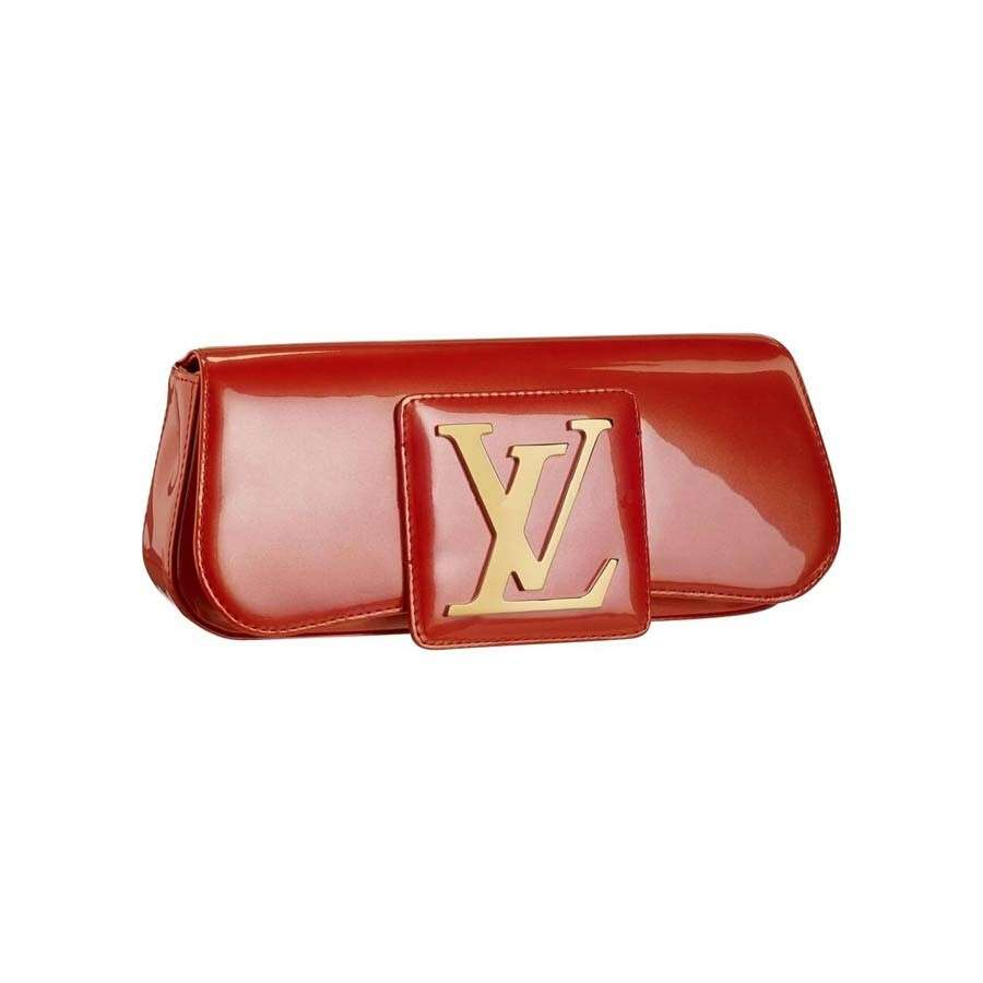 Clutch Sobe Louis Vuitton rossa