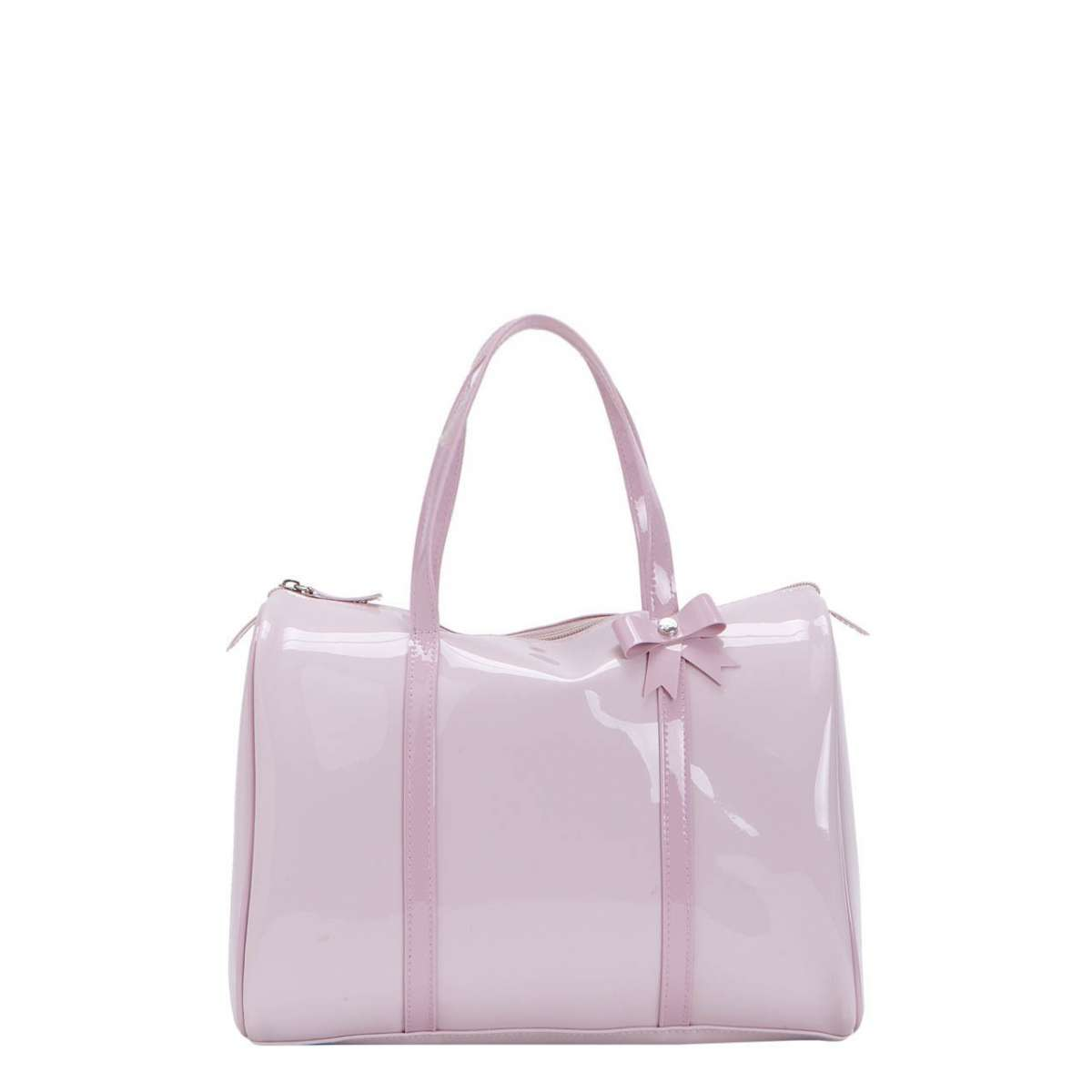 Bauletto rosa candy lucido
