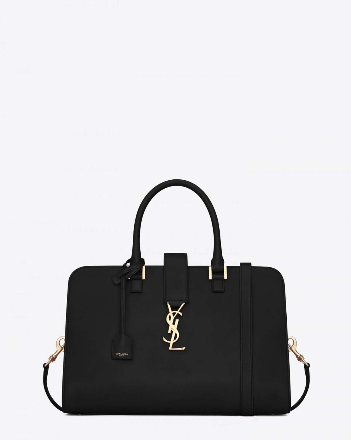 Cabas medium nera Saint Laurent