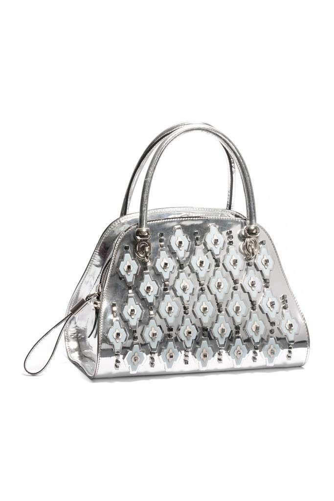 Mini bag argento Tod's