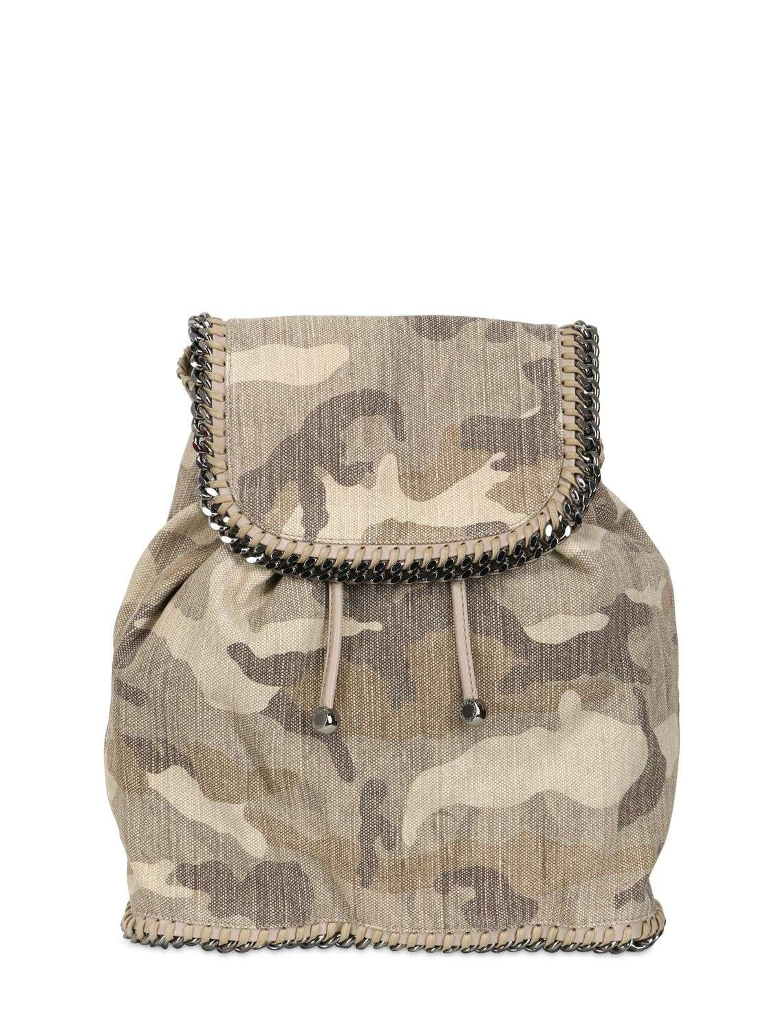 Zainetto camouflage Stella McCartney
