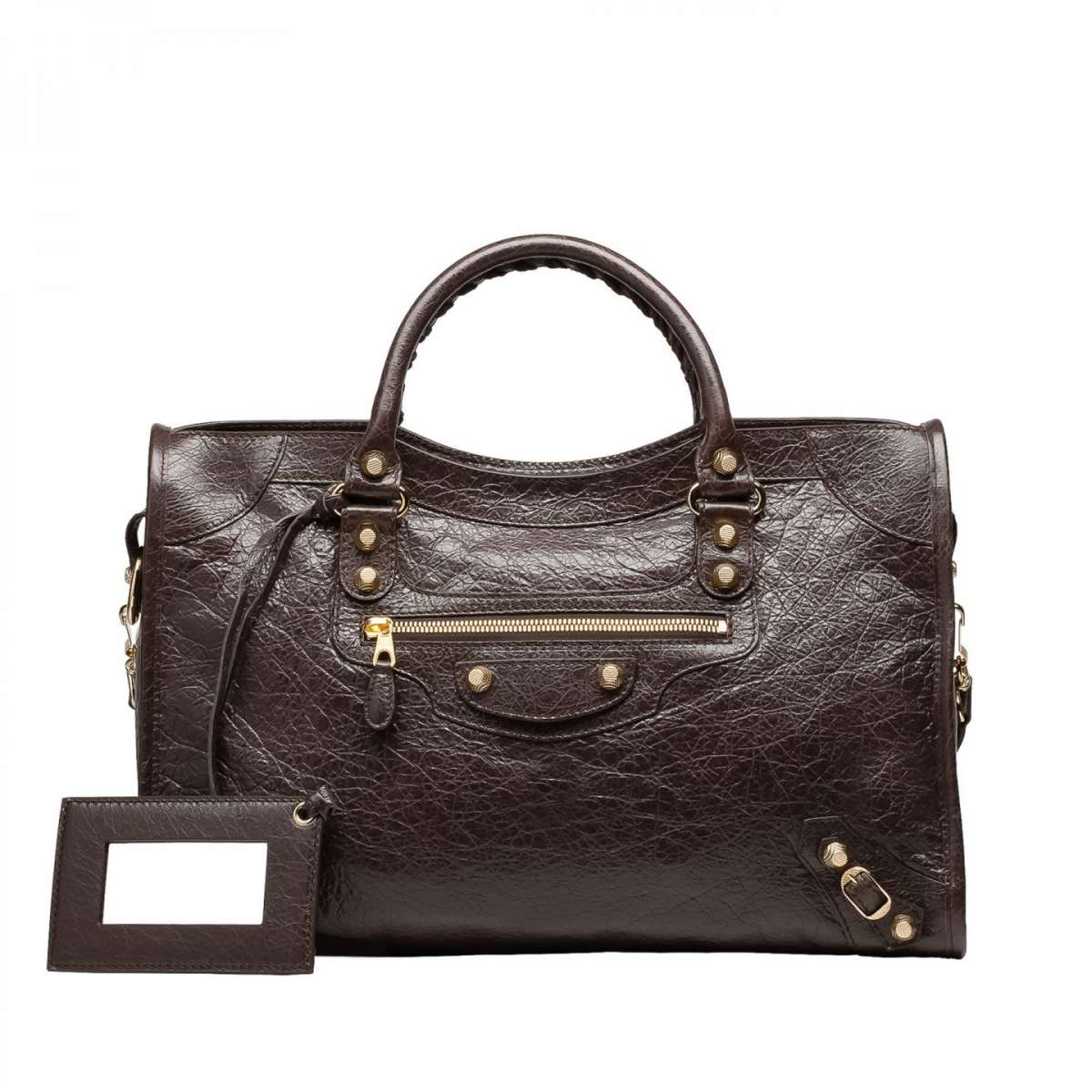 Handbag Giant 12 marrone