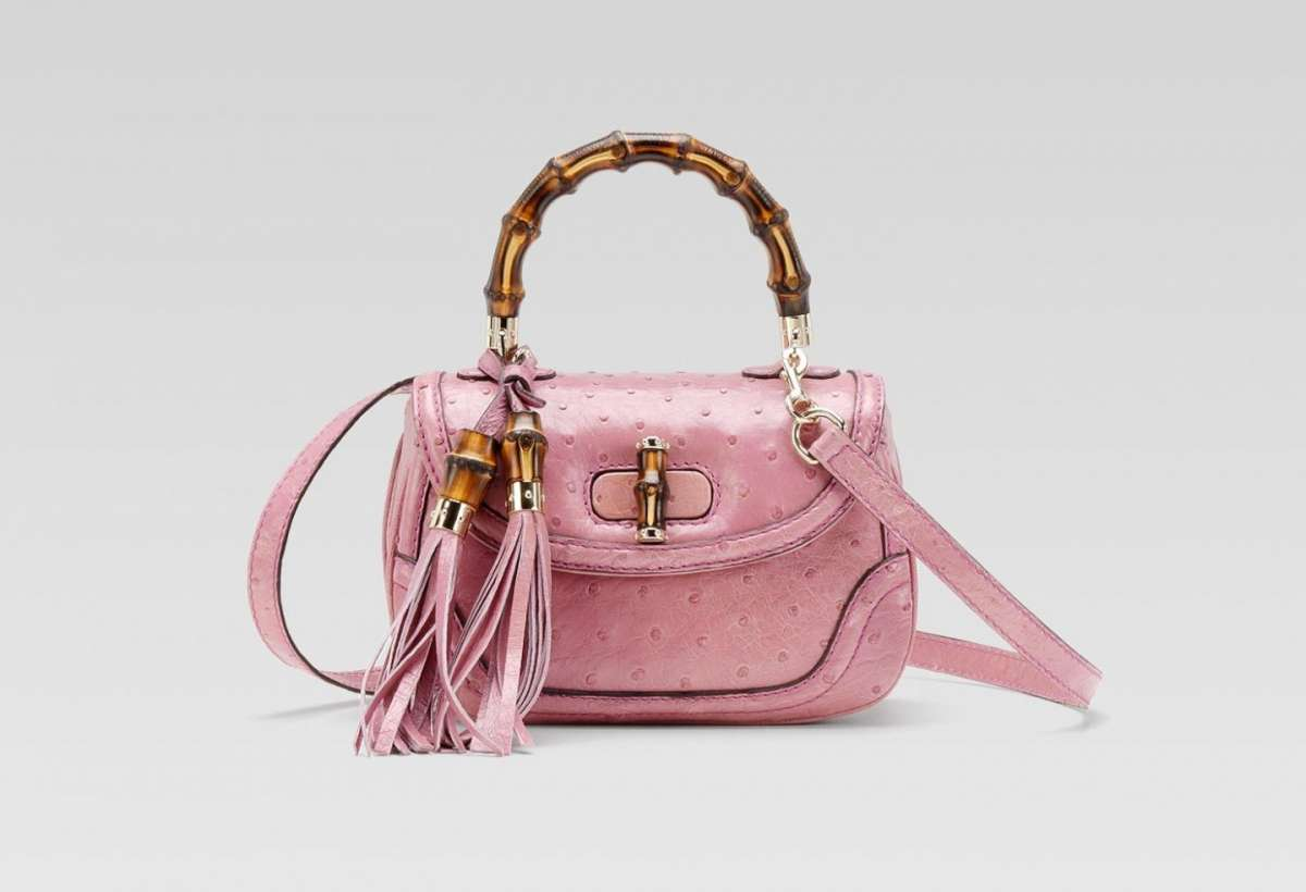 New Bamboo Gucci rosa