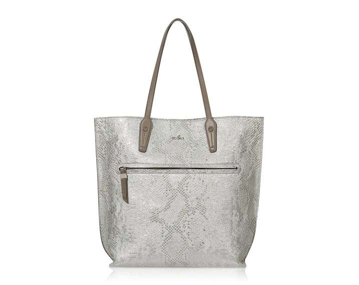 Shopping bag stampa rettile