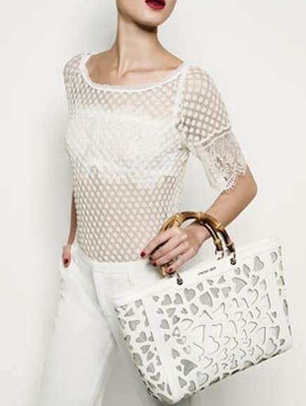 Tote laser cut Twin Set