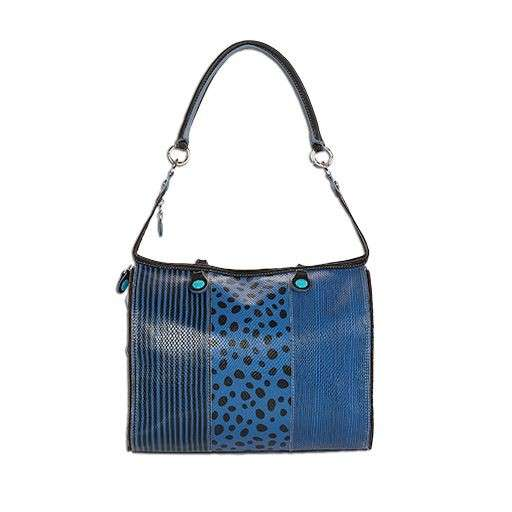 Shoulder bag blu