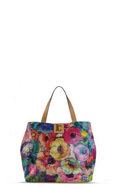 Shopping bag a fiori Just Cavalli