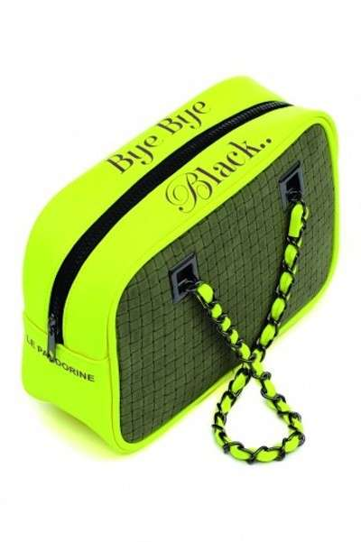Mini bag giallo fluo Le Pandorine