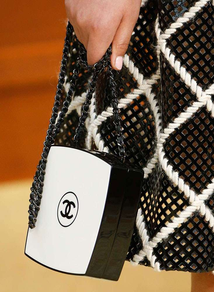 Clutch bicolor Chanel