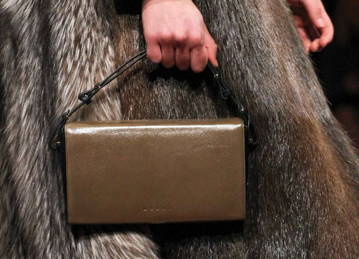Clutch marrone Marni