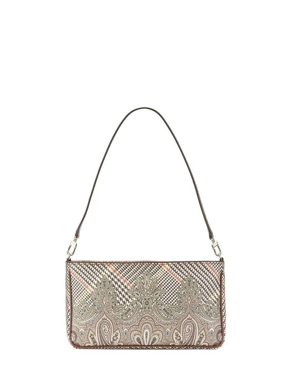 Shoulder bag stampata