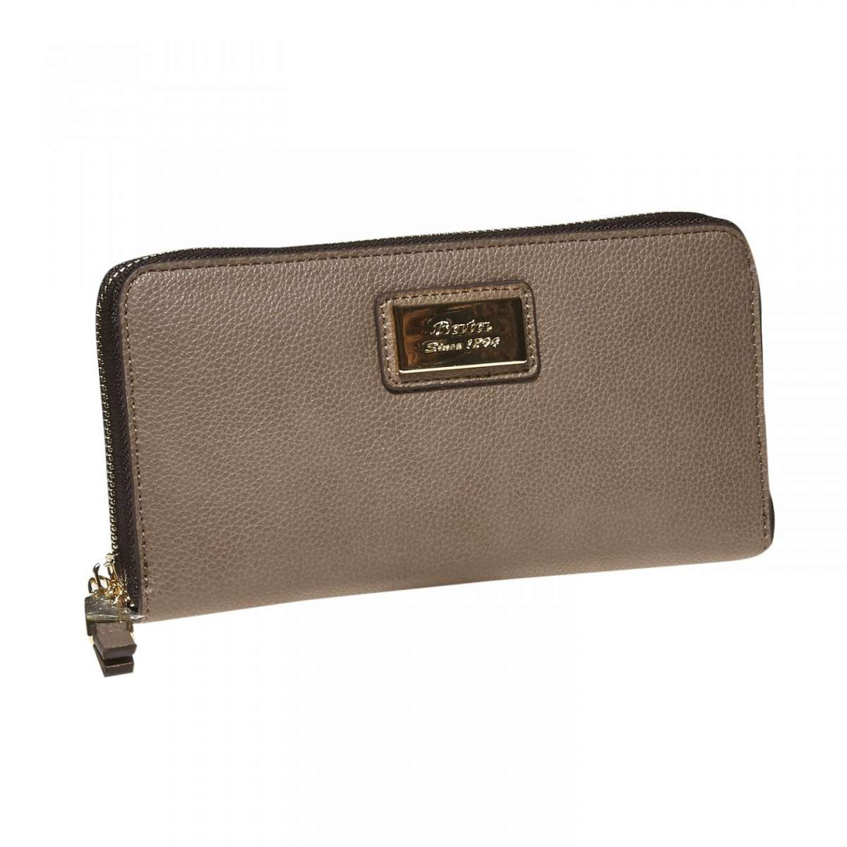 Clutch marrone Bata
