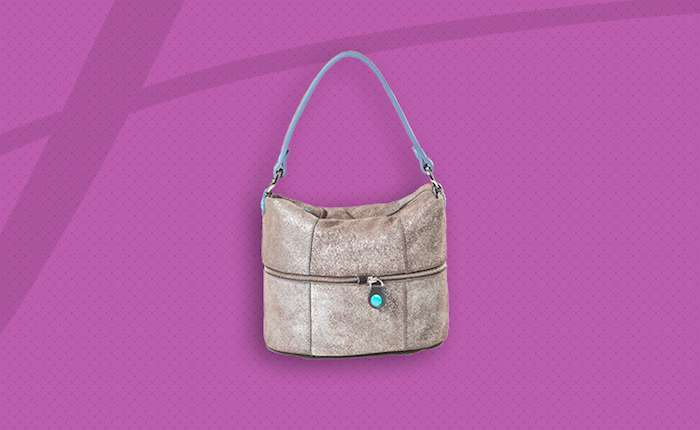 Shoulder bag shimmer
