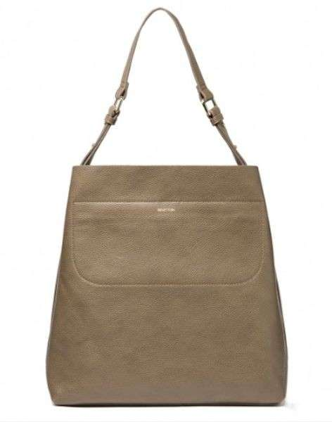 Shoulder bag sabbia